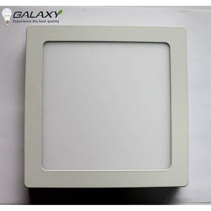 Светильник LED квадратный белый 7 Вт накладной металл GALAXY LED