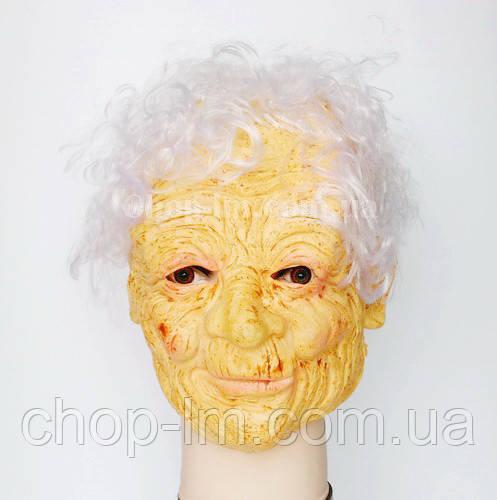 Карнавальная Маска Старушка кучерявая / бабушка