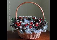 """Новогодняя подарочная корзина """"Зимняя сказка"""""""