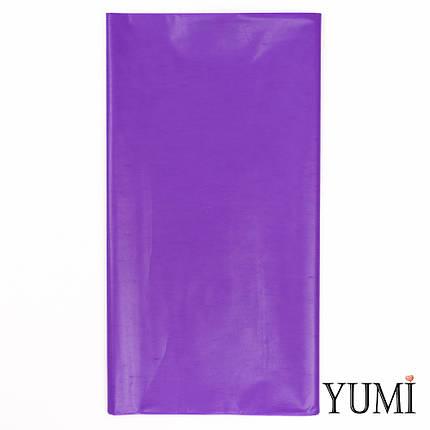 Скатерть п/э Purple фиолетовая 1,4 х 2,75 м Amscan, фото 2