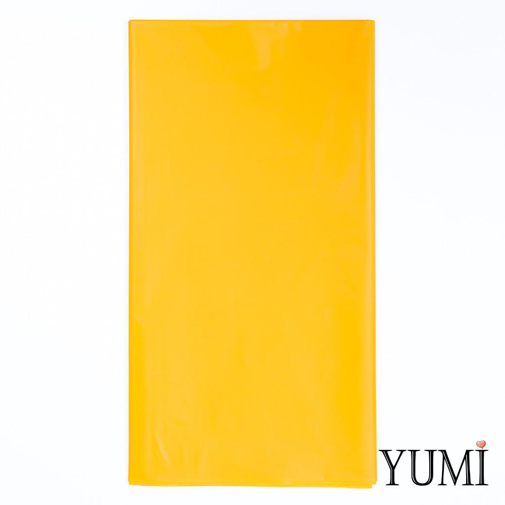 Скатерть п/э Sunshine Yellow желтая 1,4 х 2,75 м Amscan