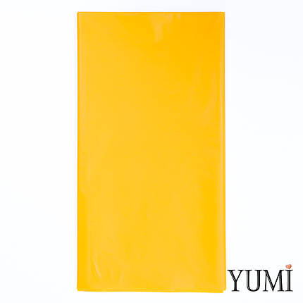 Скатерть п/э Sunshine Yellow желтая 1,4 х 2,75 м Amscan, фото 2