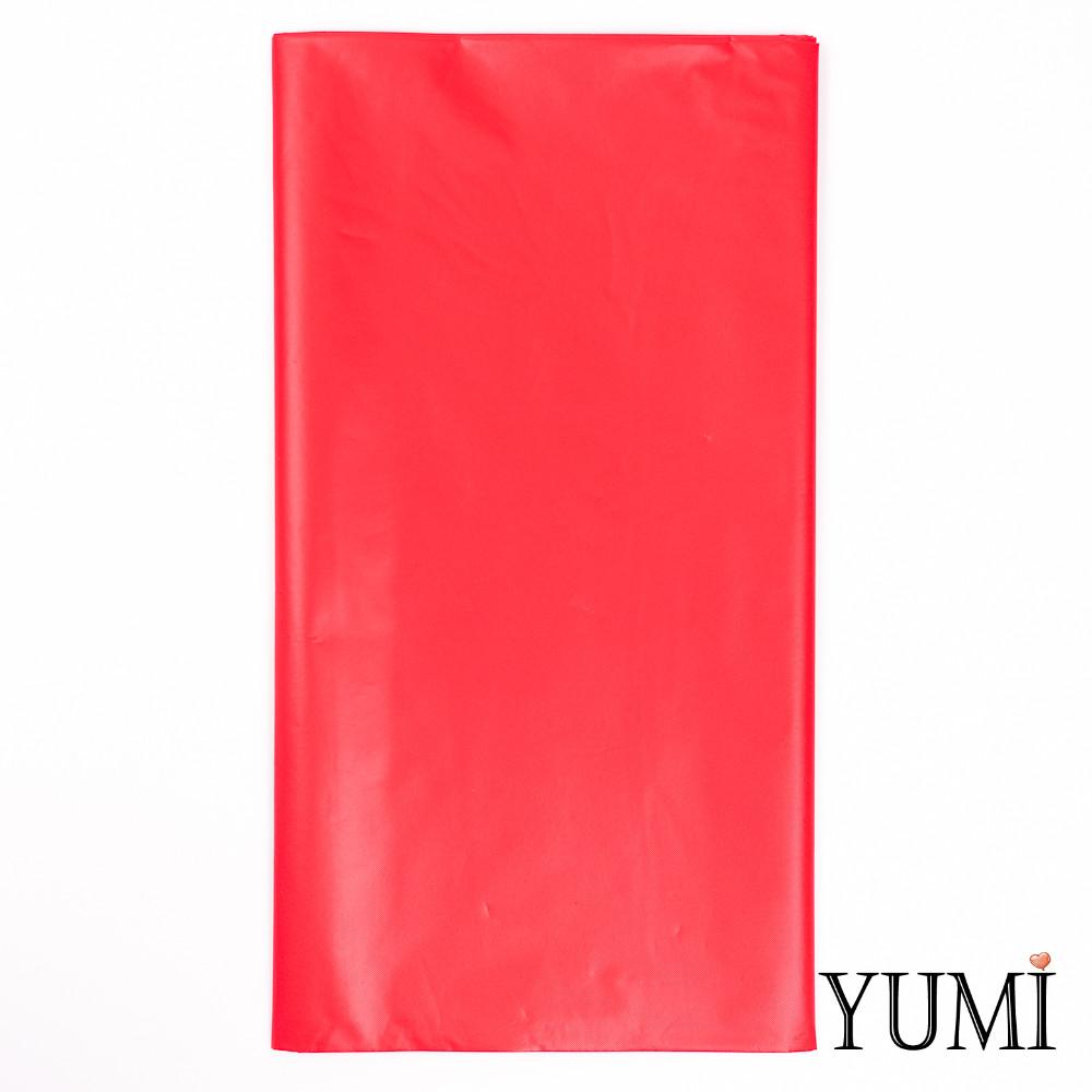 Скатерть п/э Apple Red красная 1,4 х 2,75 м Amscan