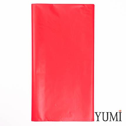 Скатерть п/э Apple Red красная 1,4 х 2,75 м Amscan, фото 2