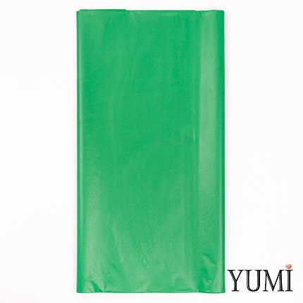 Скатерть п/э Festive Green зеленая 1,4 х 2,75 м Amscan, фото 2