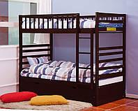 """Двухьярусная кровать из дерева """"Мирана"""" для двоих детей"""
