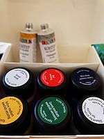 Набор красок  по ткани (5 красок+2 контура+разбавитель)