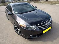Дефлектор капота (мухобойка) Honda Accord 8 (хонда аккорд 2008-2013)