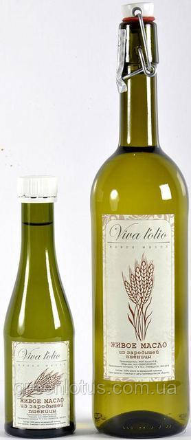 Масло зародышей пшеницы Viva l'olio, 500 мл.