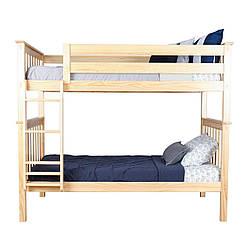 """Двухьярусная ліжко""""Джессі"""" з дерева"""