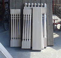 Деревянный столб из бука Виртуоз, 80*80*110 мм
