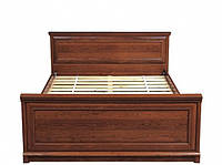 Кровать двуспальная Gerbor Соната+ламель 160х200 каштан, фото 1