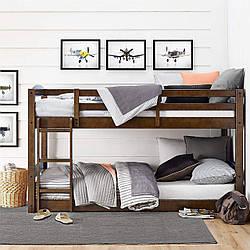 Двухьярусная ліжко з дерева