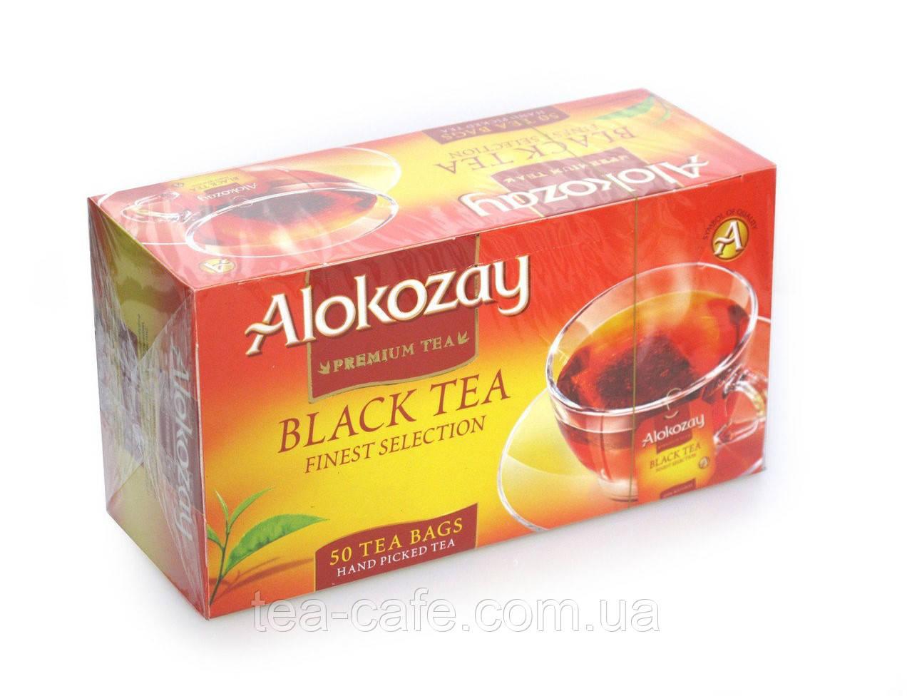 Чай чорний Alokozay 50 пак.