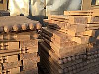Деревянный столб из дуба Виртуоз, 80*80*110 мм
