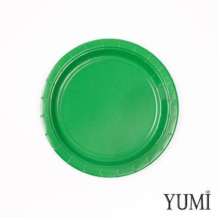 Тарелка картон Festive Green 17см / 8 шт. Amscan, фото 2