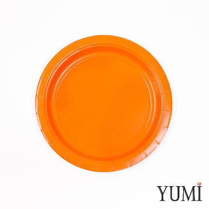 Тарелки картон Orange Peel 17см / 8 шт. Amscan, фото 2