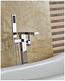 Стойка напольная для ванной комнаты в хроме 8-014, фото 2