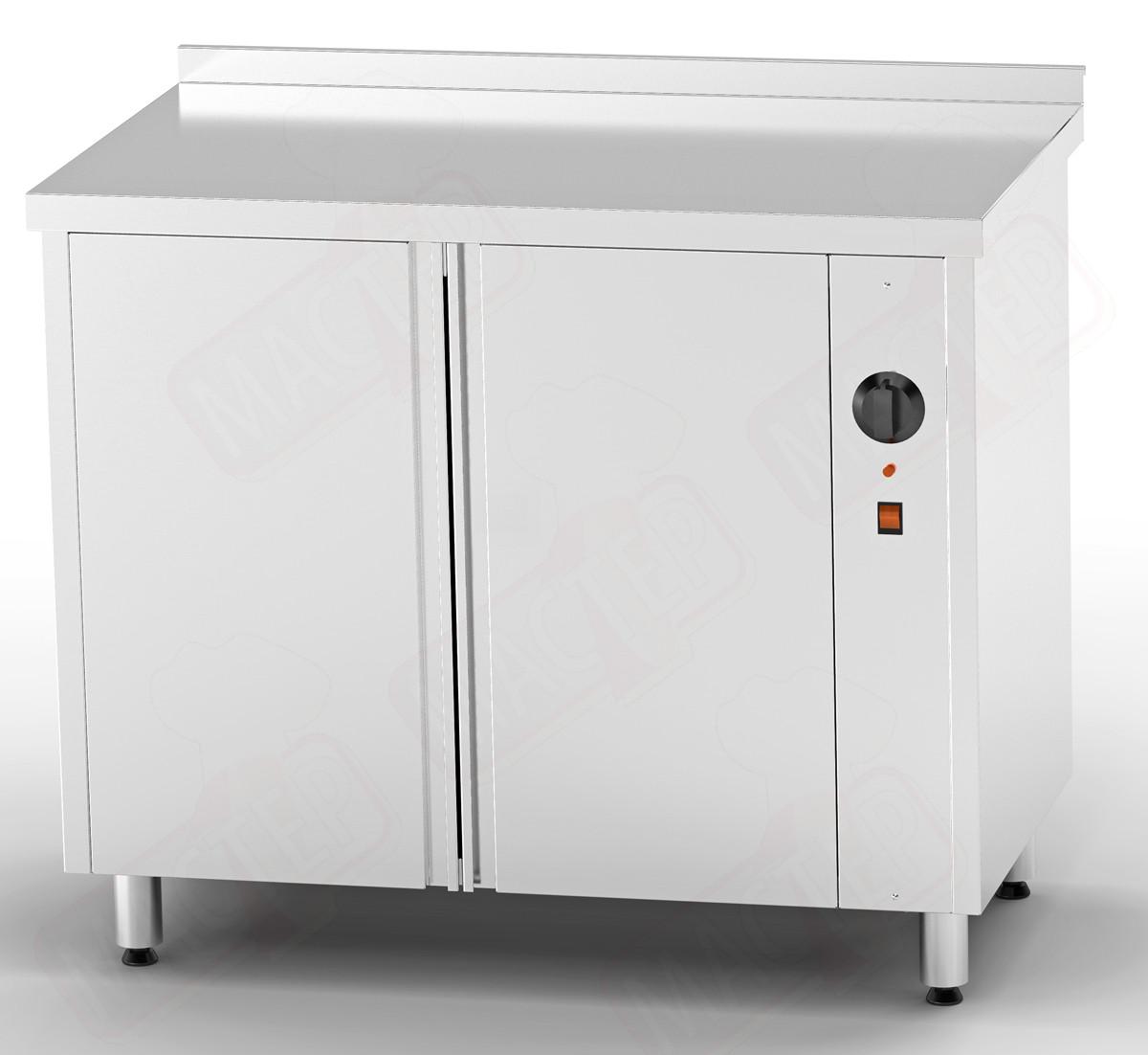 Стіл теплової 1300*700*850 для підігріву тарілок двері розпашні (без полиці)