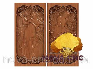 Резные деревянные нарды