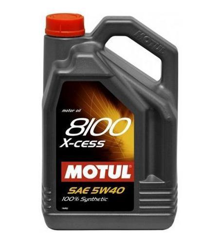 Моторное масло MOTUL 8100 X-cess 5W40 4L
