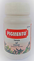 Пигменто, восстановление пигментации кожи,  при витилиго, 40 таб, фото 1