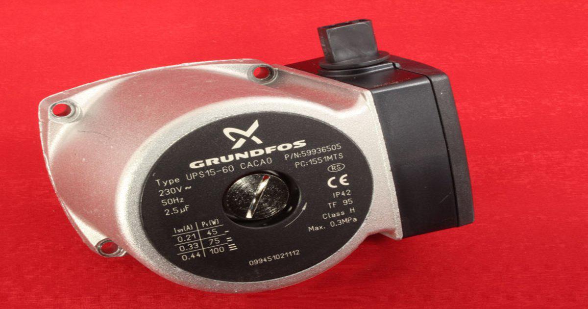Насос GRUNDFOS UPS 15-60 (110W)  BERETTA / SIME.  Крыльчатка 66/30мм