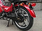 Мопед Musstang Delta MT110-1 red (Мусстанг Дельта МТ110-1 красный), фото 6