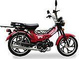 Мопед Musstang Delta MT110-1 red (Мусстанг Дельта МТ110-1 красный), фото 4