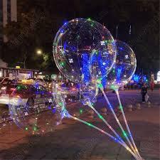 Светящийся воздушный шар на палочке, фото 2