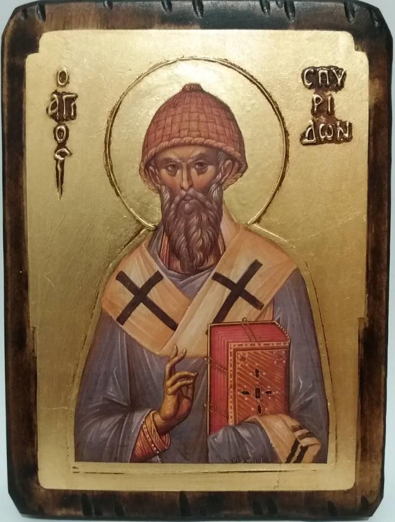Икона Святой Спиридон
