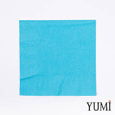 Серветка Caribbean Blue блакитна 33 см / 20 шт