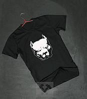 Мужская футболка Staff,мужская футболка Стаф, спортивная, брендовая,хлопок, черная, размеры: ХС-ХХХЛ