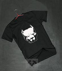 Мужская футболка Staff черного цвета (люкс копия)
