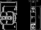 5094618 Разрядник для защиты от перенапряжений 1-полюсный (УЗИП), V20-C 1-280 OBO Bettermann (Германия), фото 2