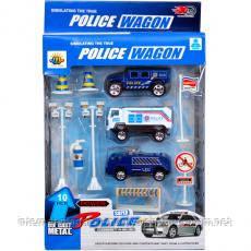 Набор полицейских машин 88001