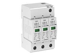5094624 Розрядник для захисту від перенапруг 3-полюсний (ПЗІП), V20-C 3-280 OBO Bettermann (Німеччина)