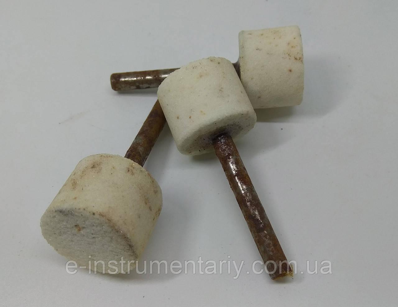 Головка шлифовальная цилиндрическая 25х20х6 25а - белый электрокорунд