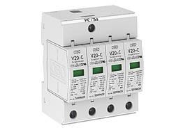 5094627 Розрядник для захисту від перенапруг 4-полюсний (ПЗІП), V20-C 4-280 OBO Bettermann (Німеччина)