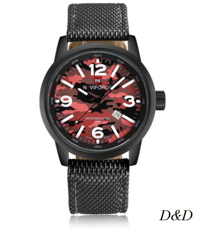 Часы мужские NAVIFORCE NF9080M черные