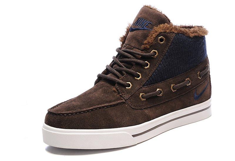 8db3d040 Мужские зимние кроссовки Nike High Top Fur Brown: продажа, цена в ...