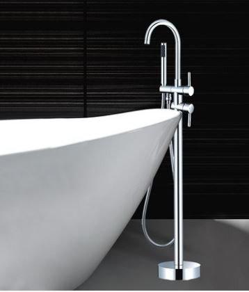 Стойка со смесителем напольная для ванной комнаты 8-016