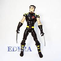 Hasbro Marvel Legends 2006 Ultimate Wolverine Black Suit, Люди Икс Росомаха, фото 1