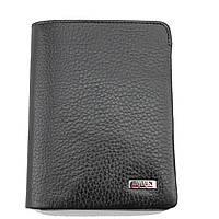 Мужской кошелек кожаный чёрный Butun 237-004-001