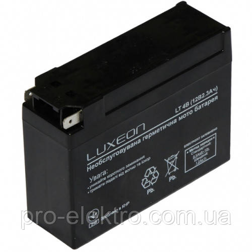 Аккумуляторная батарея LUXEON LT 4B