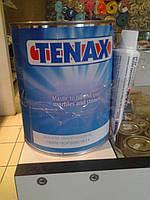Клей мастика Tenax Thassos Transparento объёмом 1 литр супер прозрачного цвета для склейки памятников из габбр