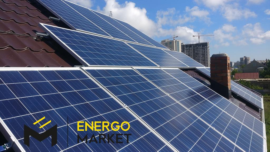 """Сетевая солнечная станция 5 кВт под """"зелёный тариф"""""""