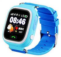 Смарт-часы SmartWatch TD-02 (Q100) GPS-Tracking, Wifi Watch Blue, фото 1