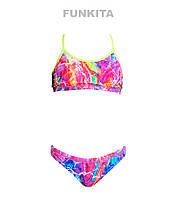 Раздельный купальник для девочек Funkita Kaleidocolour FS02, фото 1