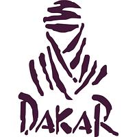 Вінілова наклейка - DAKAR (від 15х10 см), фото 1